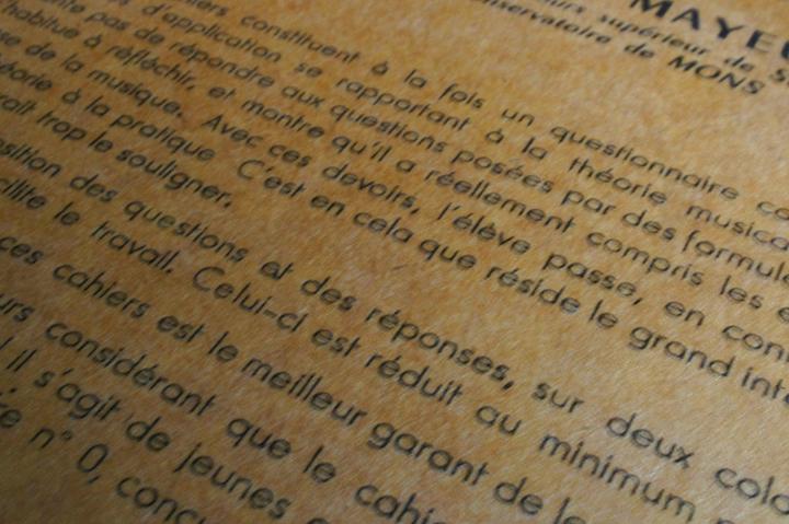 papier francaise