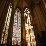 ケルン大聖堂一番奥の中世のステンドグラス